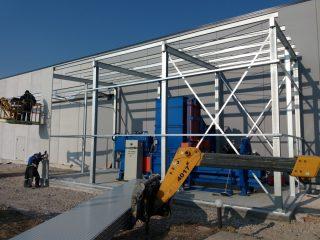 Locale per protezione e copertura macchinari
