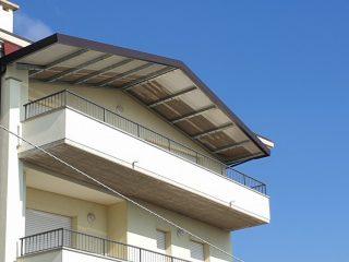 Copertura del balcone