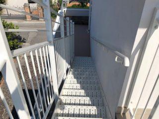 Scala di servizio per accesso al tetto